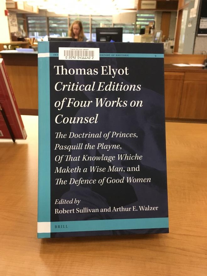 Sullivan's Thomas Elyot